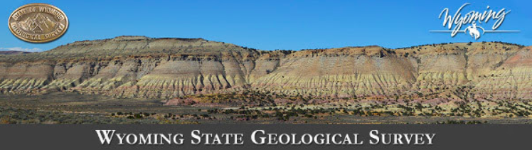 Badlands Wyoming Map.Wsgs Launches Interactive Geologic Hazards Map Of Wyoming Svi News