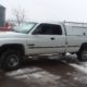 1998.5 Dodge Ram 2500 Cummings 4x4  5 spd with Leer Journeyman service topper. Tradesman special.