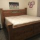 King Bed,  6 drawer dresser with mirror
