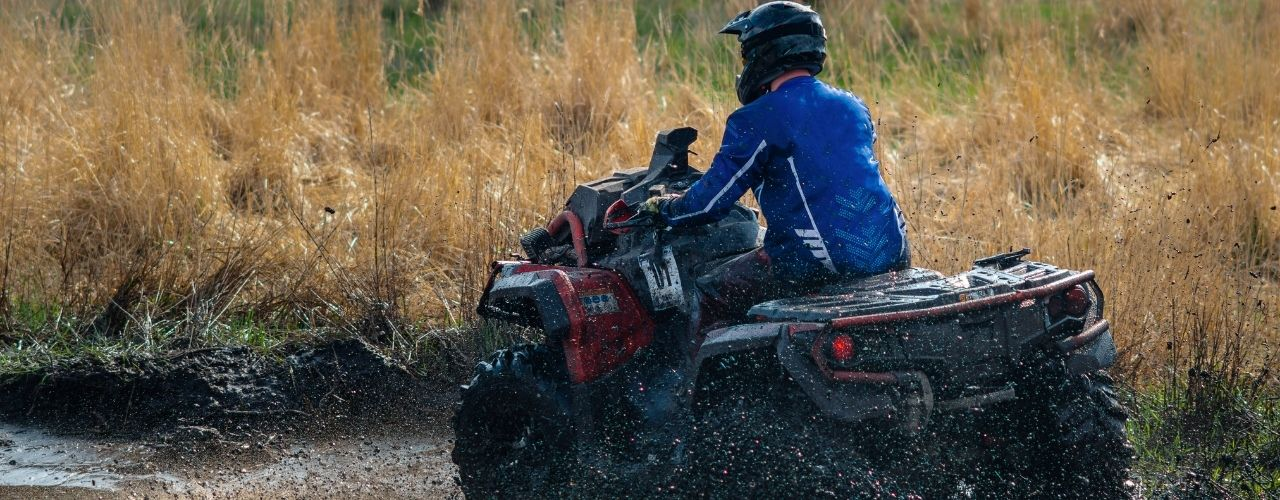 How To Use Your ATV Safely in the Rain