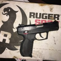 Ruger sr22 handgun