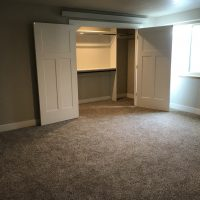 New lower level apartment for rent