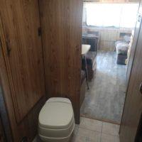 Fifth wheel camp trailer