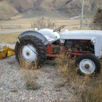 for sale:  Ford 600 tractor with blade
