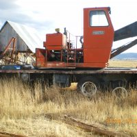 Prentice 600B log loader for sale, rugged, heavy-duty machine