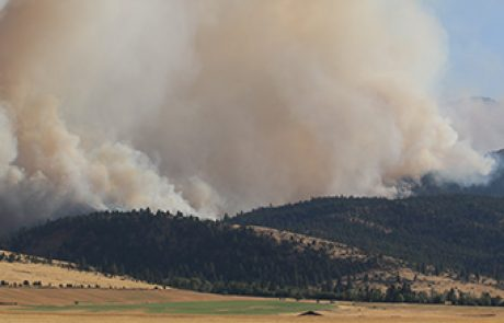 "Area fire danger increases to ""High"""