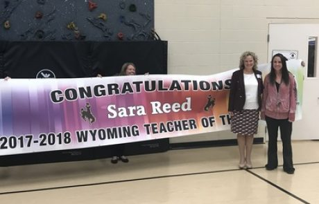 Sara Reed named 2018 Wyoming Teacher of the Year