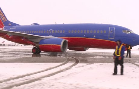 Southwest Airlines celebrates first 'unmanned' flight on new Boeing model