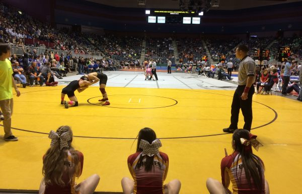 (Audio Coverage) – Braves wrestlers up 63 points after Day 1 in Casper in bid for three-peat