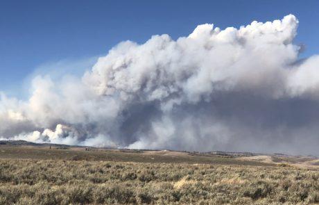 Marten Creek/Roosevelt Fire Report, Monday Oct. 1, 2018