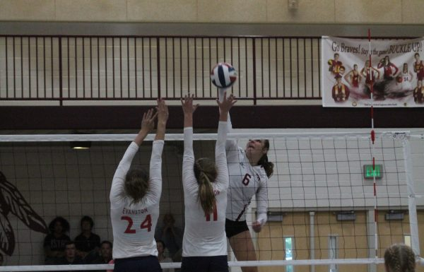 Lady Braves sweep Evanston to move to (17-4)