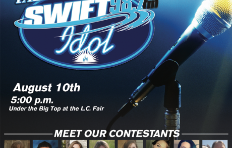 (Video) 2018 Swift Idol is Friday at 5 p.m. under the Big Top!