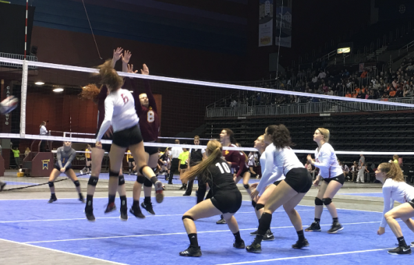(Audio) – State Volleyball Day 3